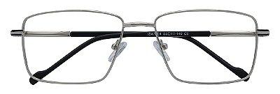 Armação Óculos Receituário AT 1004 Prata