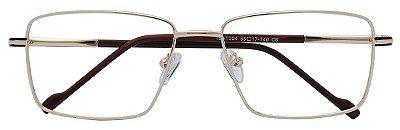 Armação Óculos Receituário AT 1004 Dourado