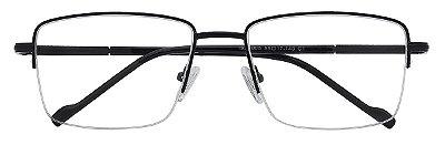 Armação Óculos Receituário AT 1005 Preto