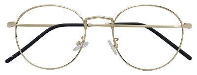 Armação Óculos Receituário AT 8828 Dourado