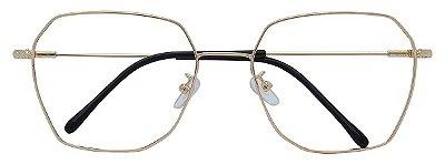 Armação Óculos Receituário AT HX9901 Dourado