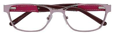 Armação Óculos Receituário AT 1737 Lilás Metálico