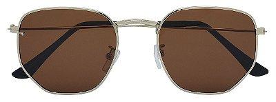 Óculos de Sol Unissex AT 2211 Dourado/Marrom