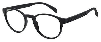 Armação Óculos Receituário AT 1044 Preto
