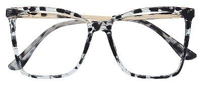 Armação Óculos Receituário AT 2209 Animal Print