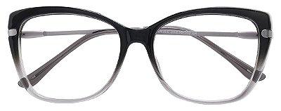 Armação Óculos Receituário AT 6350 Preto Degradê