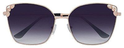Óculos de Sol Feminino AT 2260 Dourado
