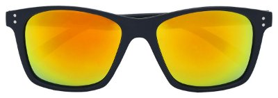 Óculos de Sol Masculino AT 3010 Preto/Laranja Espelhado