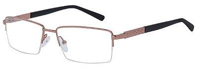Armação Óculos Receituário AT 6015 Cobre
