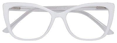 Armação Óculos Receituário AT 2086 Branco