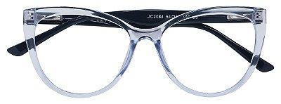 Armação Óculos Receituário AT 2084 Azul Transparente