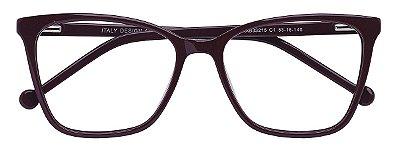 Armação Óculos Receituário AT 33215 Vinho