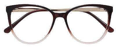 Armação Óculos Receituário AT 2204 Vinho Degrade