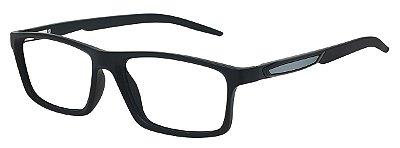 Armação Óculos Receituário AT 1059 Preto/Cinza