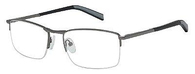 Armação Óculos Receituário AT 1007 Chumbo/Cinza