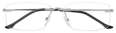 Armação Óculos Receituário AT 6816 Prata