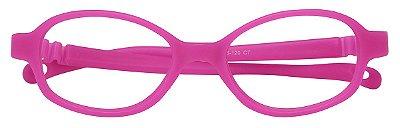 Armação Flexível infantil TIPO Miraflex AT 6037 Rosa Pink (01 a 03 Anos)