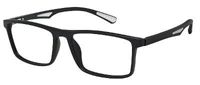 Armação Óculos Receituário AT 1067 Preto/Gelo