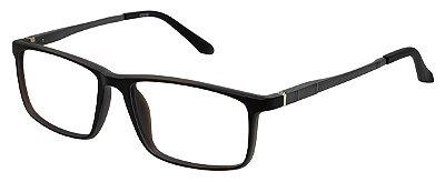 Armação Óculos Receituário AT 9188 Grafite