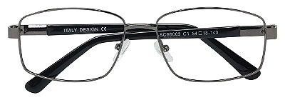 Armação Óculos Receituário AT 66003 Chumbo