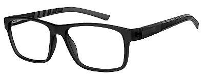 Armação Óculos Receituário AT 1065 Preto/Cinza