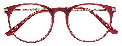Armação Óculos Receituário AT 4154 Vermelho