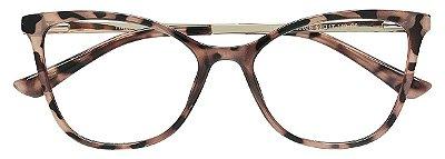 Armação Óculos Receituário AT 99028 Animal Print