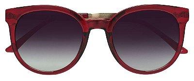 Óculos de Sol Feminino AT 72175 Vinho Transparente
