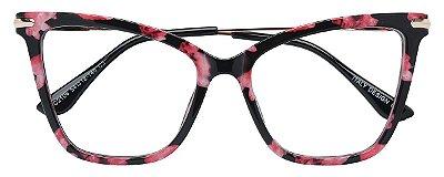 Armação Óculos Receituário AT 2106 Floral