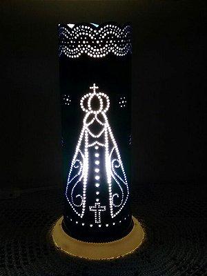 Luminária PVC Nossa Senhora Aparecida
