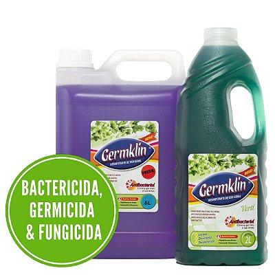 Germklin - Desinfetante de Uso Geral - Elimina Germes e Bactérias - Lumazil