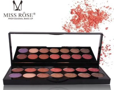 Paleta de Sombras Opacas Miss Rôse
