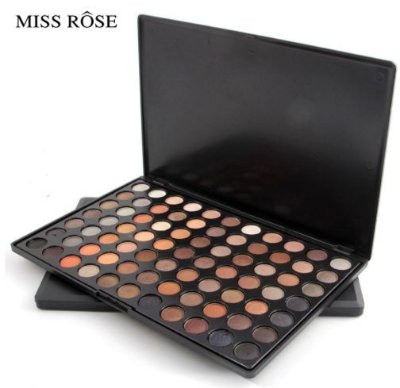 Paleta de Sombras Miss Rôse 77 Cores