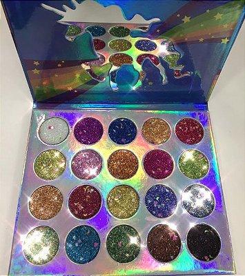 Paleta de Glitter Prensado Miss Rôse