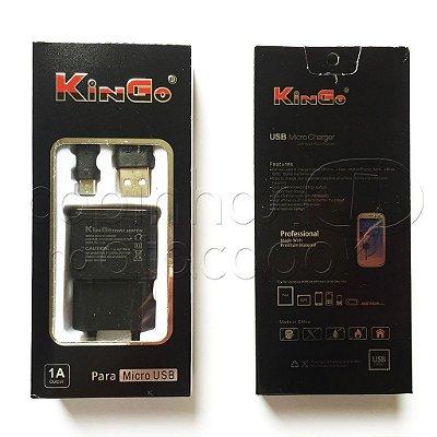 Carregador Micro USB Linha Premium - KinGo