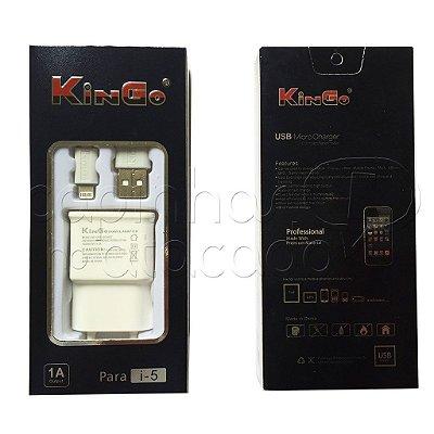 Carregador para iPhone 5 e 6 Linha Premium - KinGo