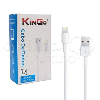 Cabo de Dados para iPhone 5 e 6 Linha Premium - KinGo