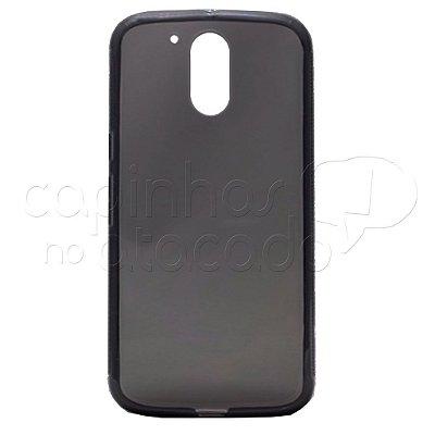 Capa de Silicone TPU Fumê para Motorola Moto G4 (5.5) / Plus