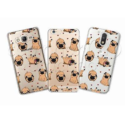 Capinha Personalizada Premium - Pugs