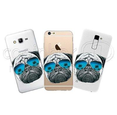Capinha Personalizada Premium - Pug Style