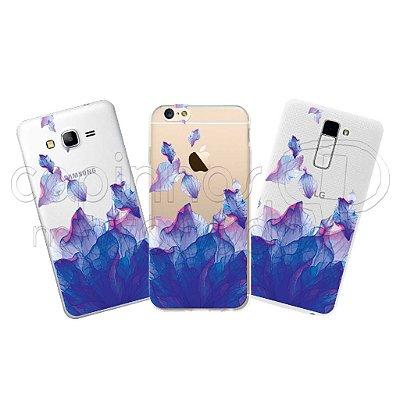 Capa Personalizada Premium - Flores Aquarela