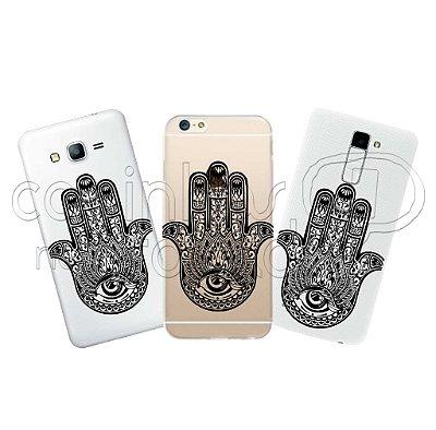 Capa Personalizada Premium - Hamsa Hand