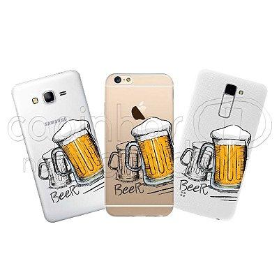 Capinha Personalizada Premium - Beer