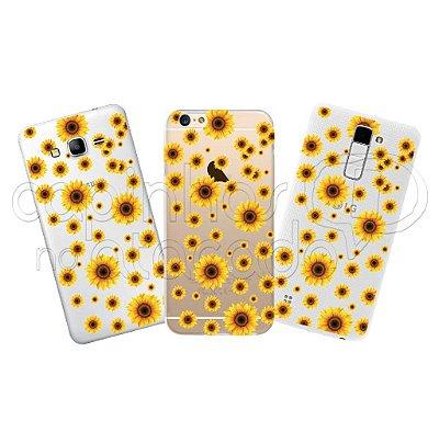 Capa Personalizada Premium - Sun Flower