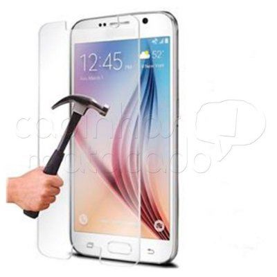 Película de Vidro Temperado Central para Samsung Galaxy S6 Edge