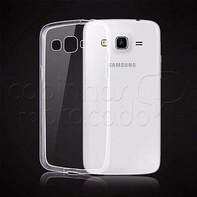 Capa de Silicone TPU Transparente para Samsung Galaxy S3 Duos - 8262