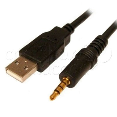 Cabo P2 x USB Macho