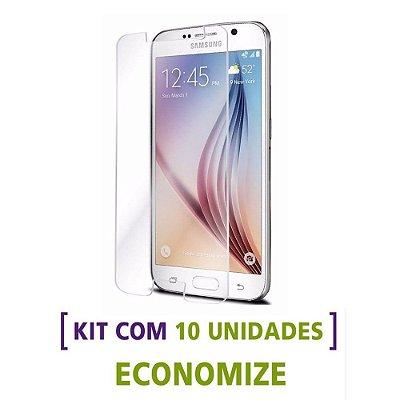 Kit com 10 Películas de Vidro Temperado para Celulares da Samsung