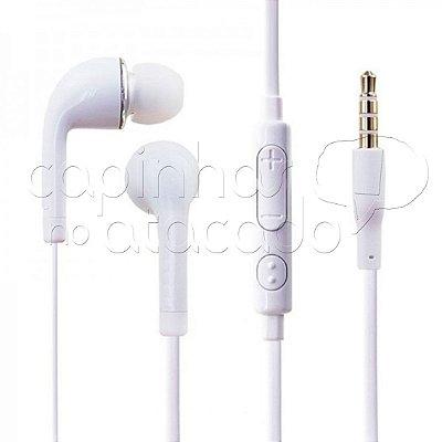 Fone de Ouvido Intra-Auricular Samsung S4 - Premium 1ª Linha