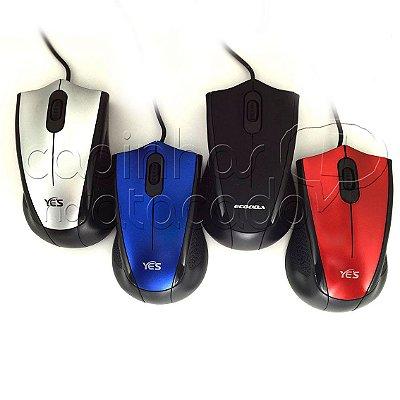 Mouse Óptico com Fio - Super Design
